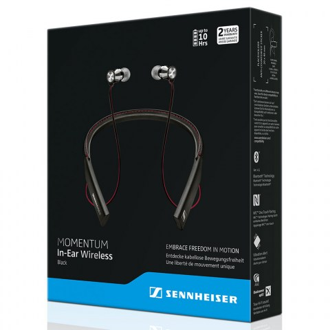 Sennheiser MOMENTUM In-Ear Wireless Earphones - Packaging Front