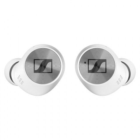 Sennheiser MOMENTUM True Wireless 2 White Earbuds - Front