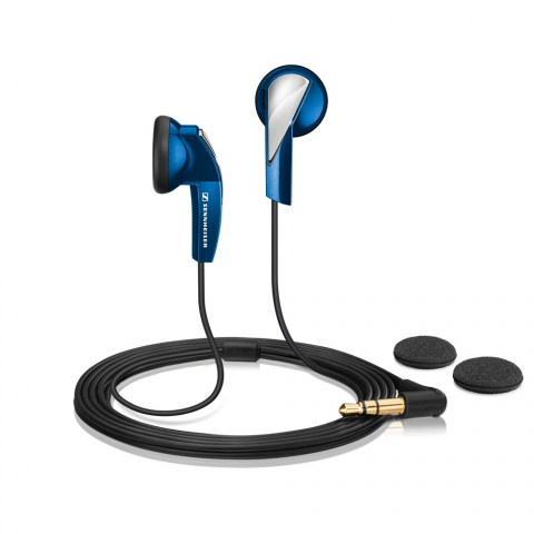 Sennheiser MX 365 Blue Earphones - Product Front