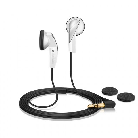 Sennheiser MX 365 White Earphones - Product Front