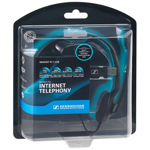 Sennheiser PC 7 USB Headset - Packaging Front