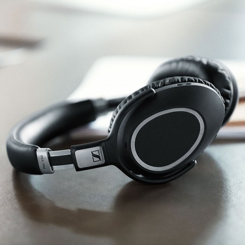 Sennheiser PXC 550 Wireless Headset - On the Table