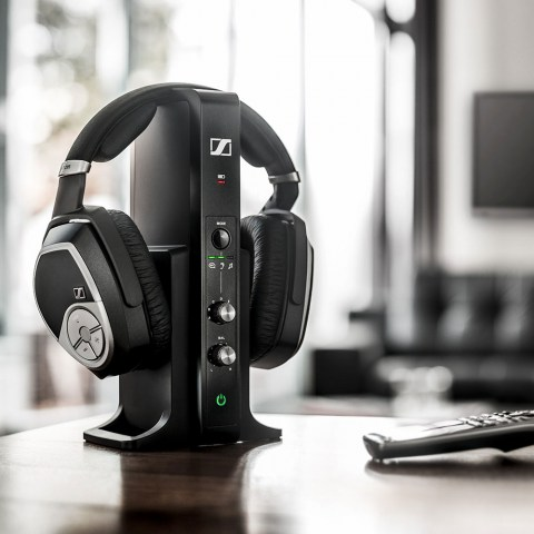 Sennheiser RS 195 Wireless System - Product on a table