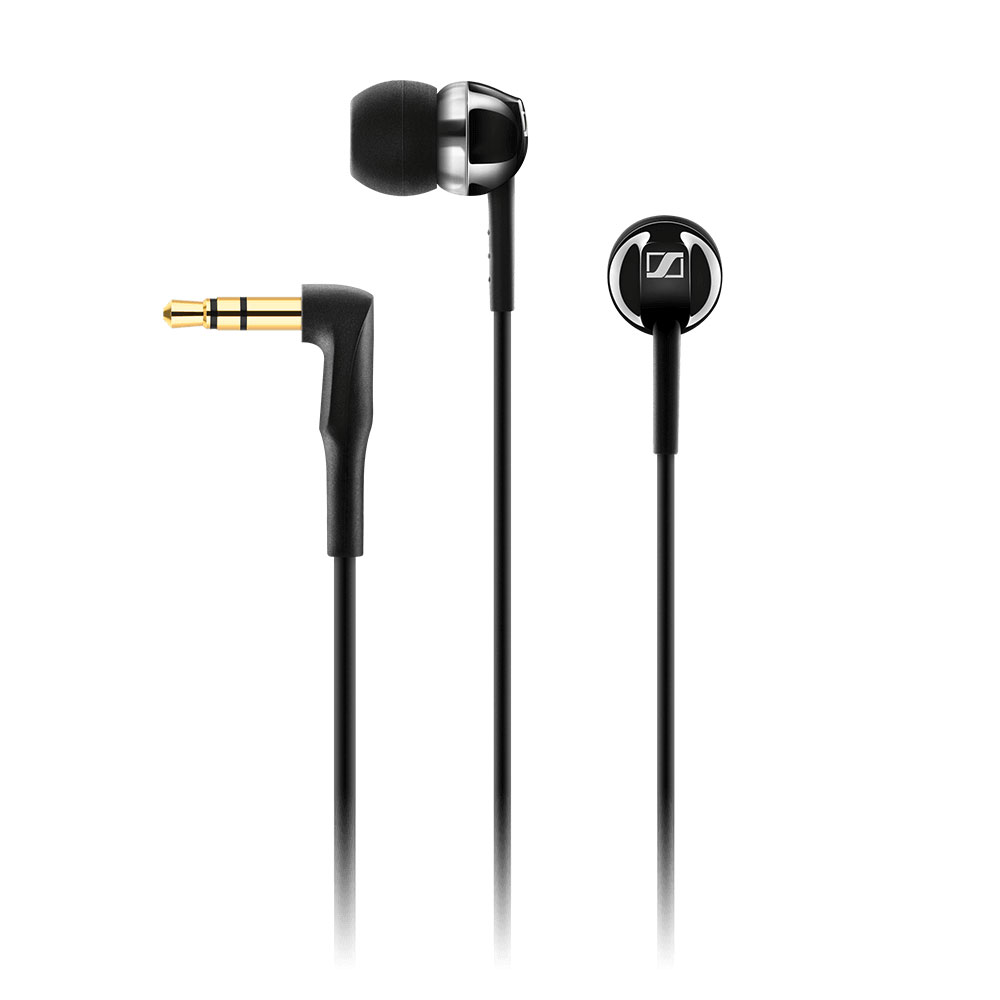 Sennheiser CX 1.00 Black Earphones - Product Front