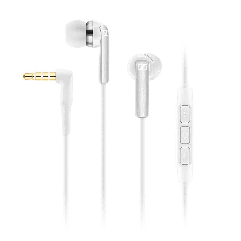 Sennheiser CX 2.00G White Earphones - Product Front