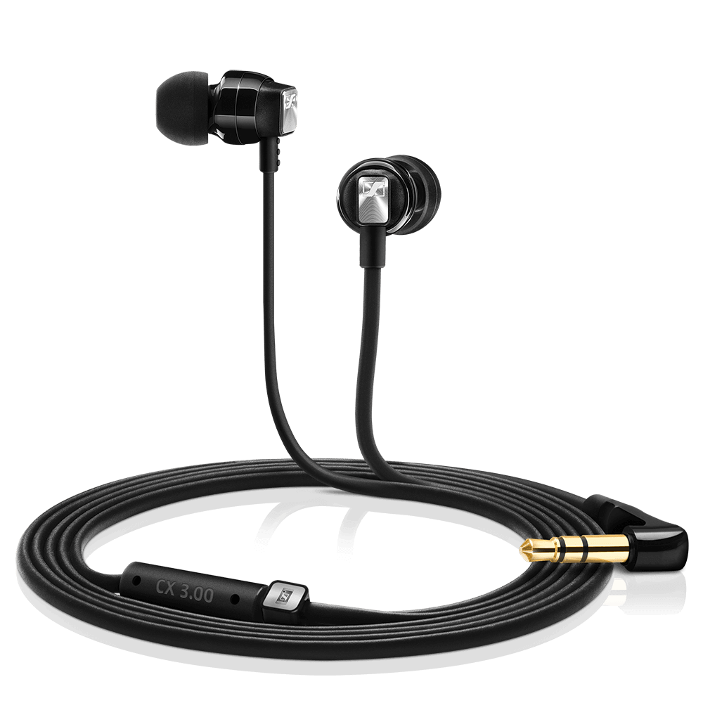 Sennheiser CX 3.00 Black Earphones - Product Details