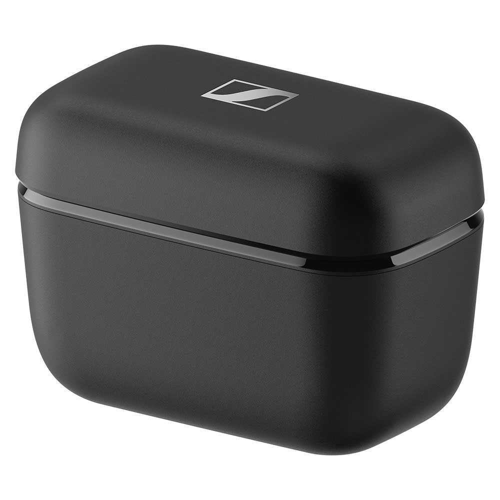 Sennheiser CX 400BT True Wireless Black Earbuds - Case