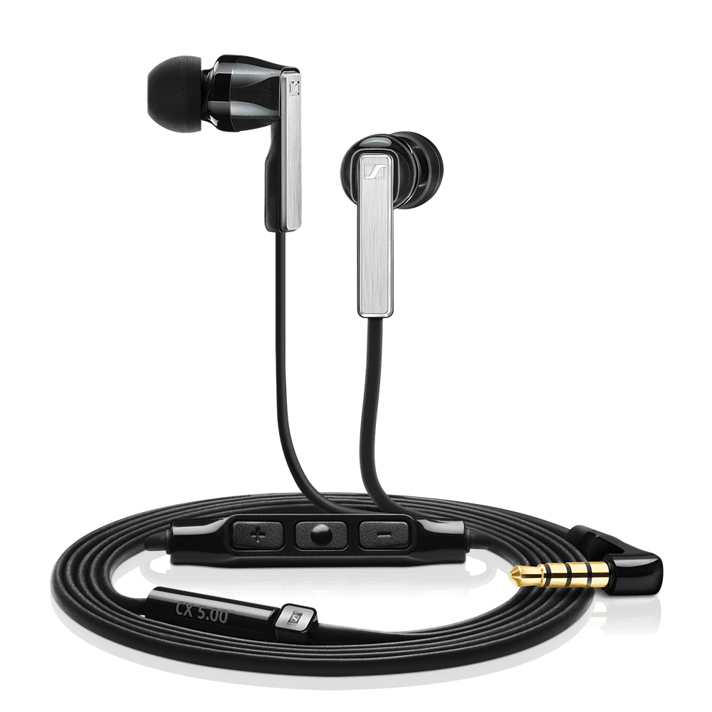 Sennheiser CX 5.00G Black Earphones - Product Details