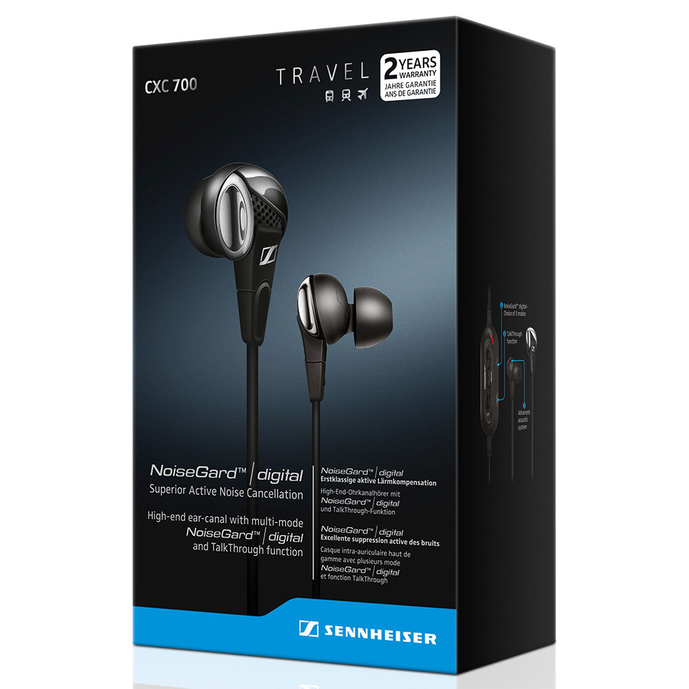 Sennheiser CXC 700 Earphones - Packaging Front