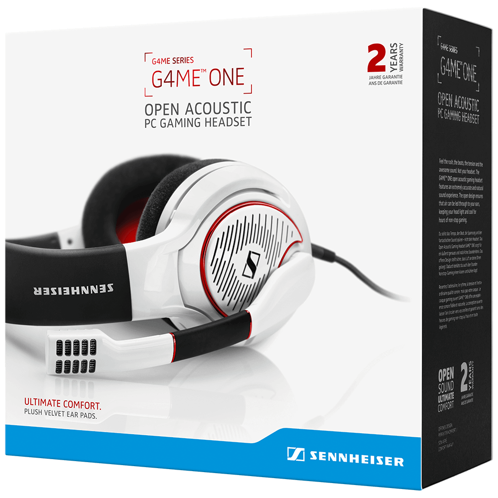 Sennheiser GAME ONE White Headset - Packaging Front