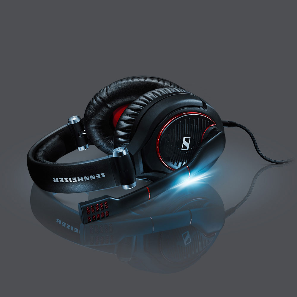 Sennheiser GAME ZERO Black Headset - Product with shadows