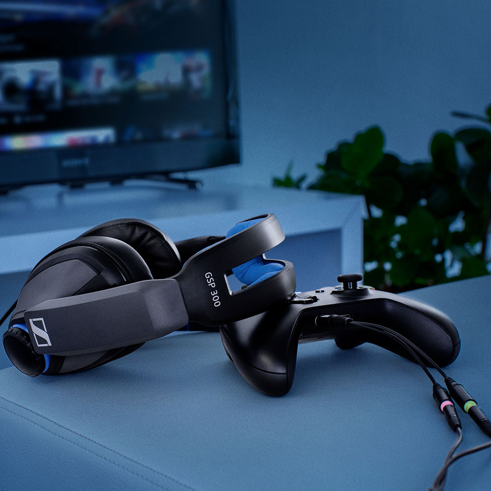 Sennheiser GSP 300 Headset - Product  Application - PS4 Connection
