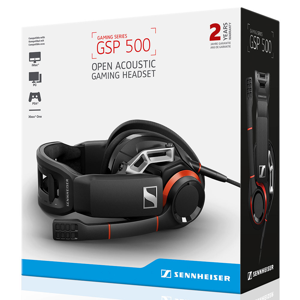 Sennheiser GSP 500 Headset - Packaging Front
