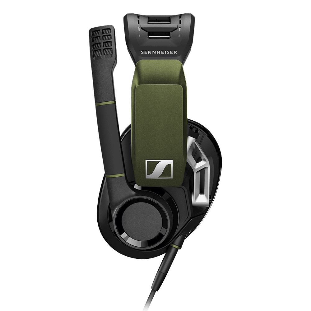 Sennheiser GSP 550 Headset - Left with Boomarm Up