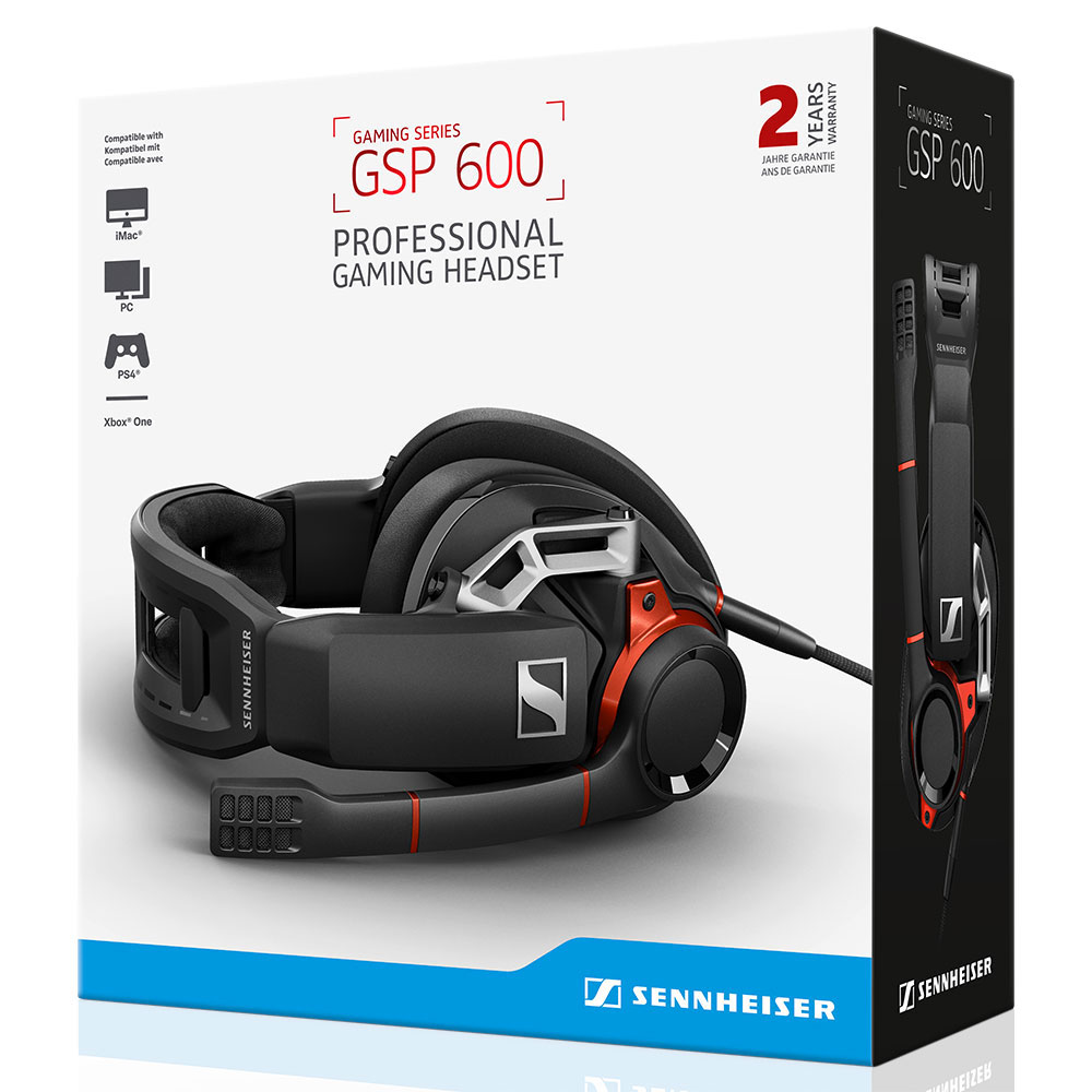 Sennheiser GSP 600 Headset - Packaging Front