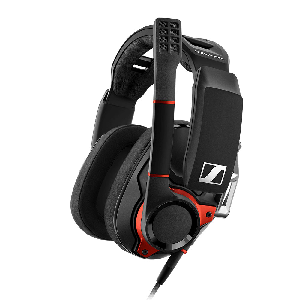 Sennheiser GSP 600 Headset - Side with Boomarm Up