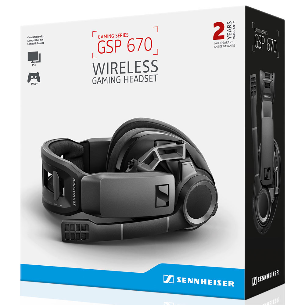 Sennheiser GSP 670 Headset - Packaging Front