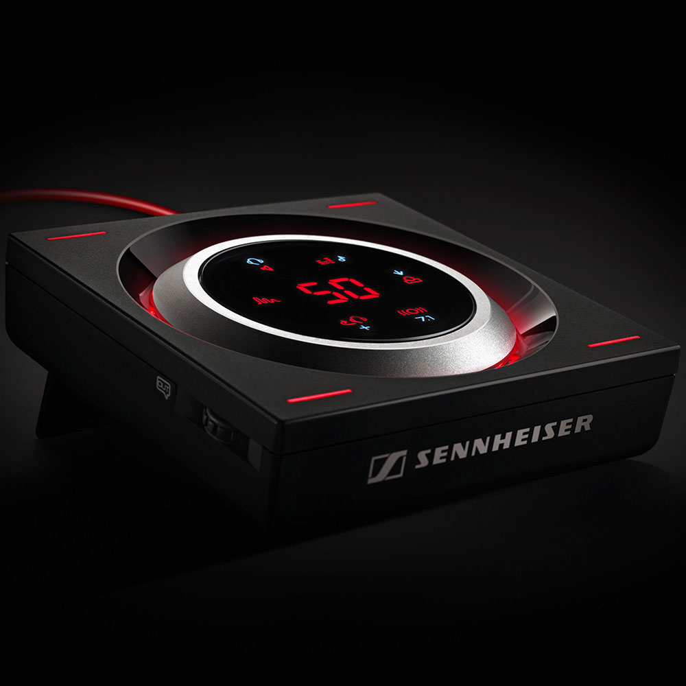Sennheiser GSX 1200 PRO Audio Amplifier - In a dark room