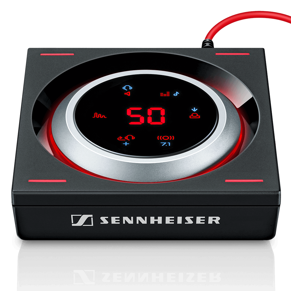 Sennheiser GSX 1200 PRO Audio Amplifier - Product Front