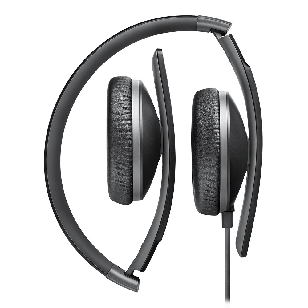 Sennheiser HD 2.30 Black Headset - Folded
