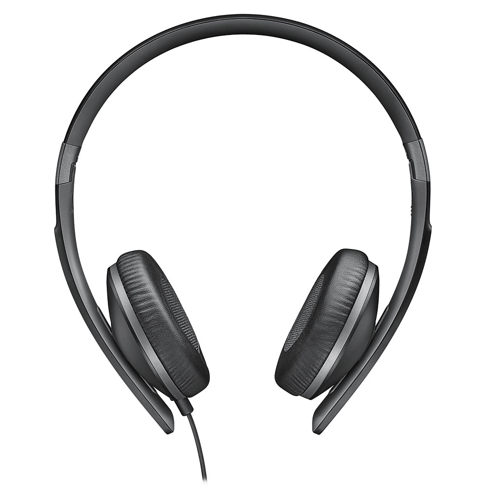 Sennheiser HD 2.30 Black Headset - Front