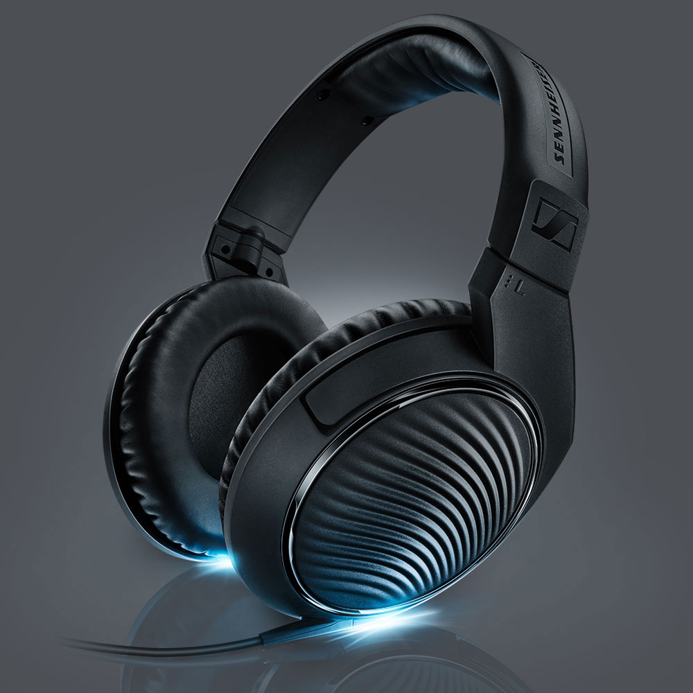 Sennheiser HD 200 PRO Headphones - with Lights