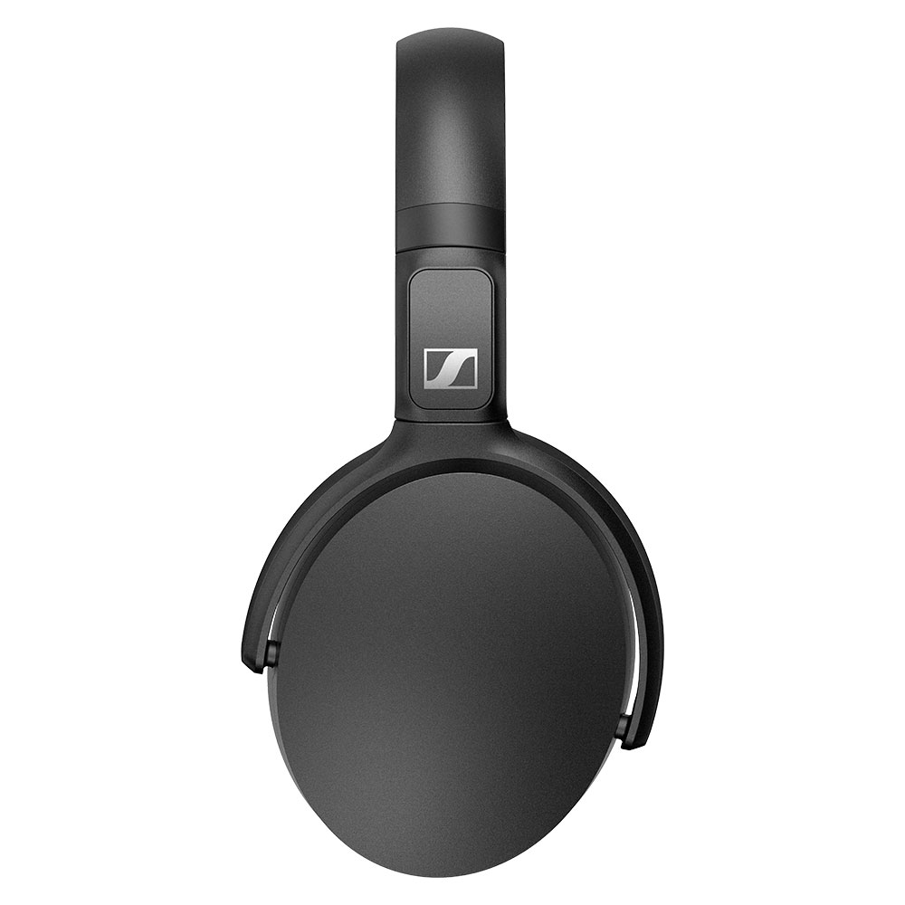 Sennheiser HD 350BT Wireless Black Headphones - Side