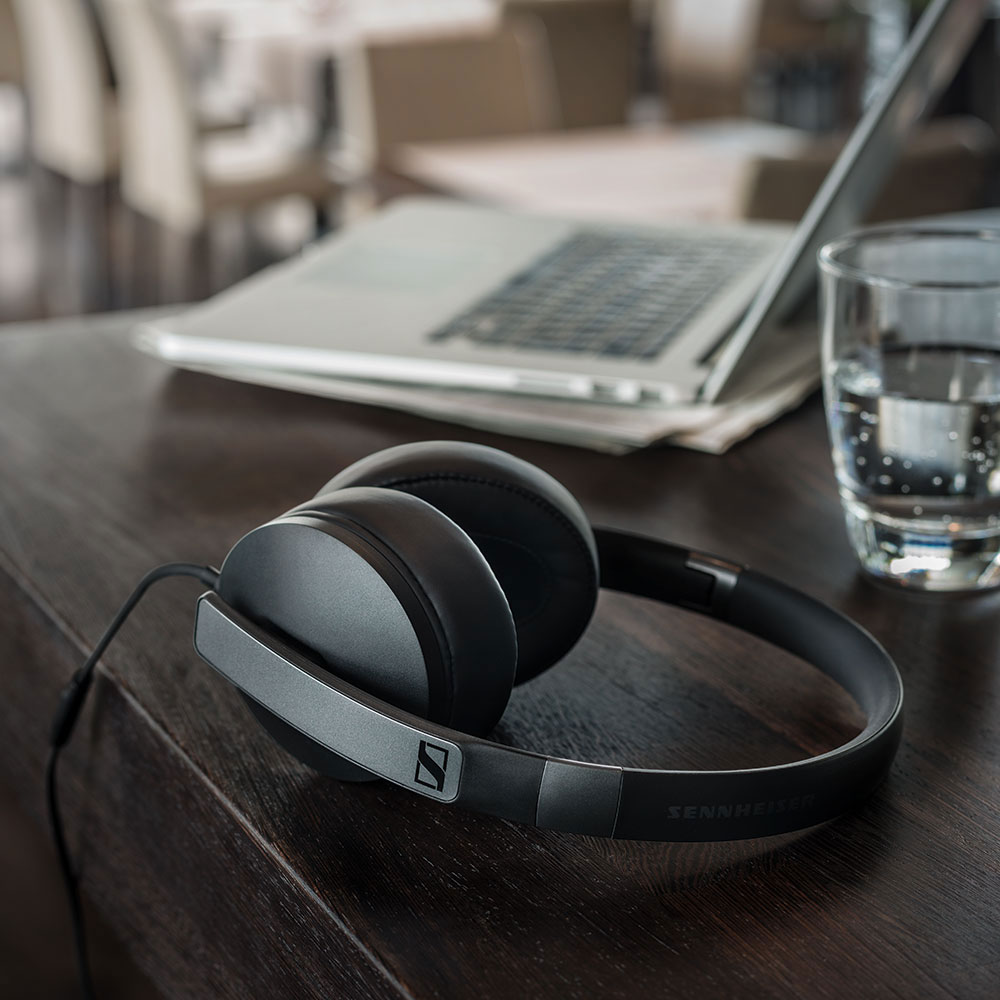 Sennheiser HD 4.20s Headset - On the Table