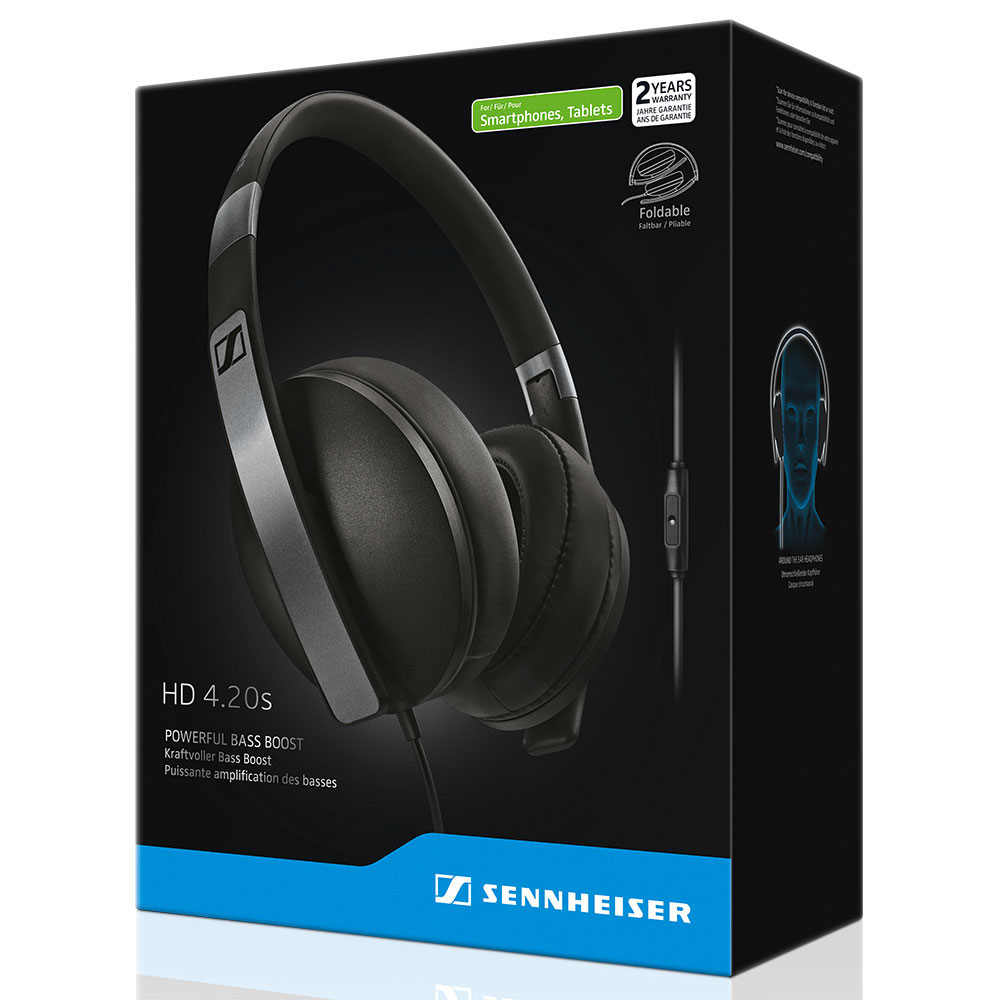 Sennheiser HD 4.20s Headset - Packaging Front