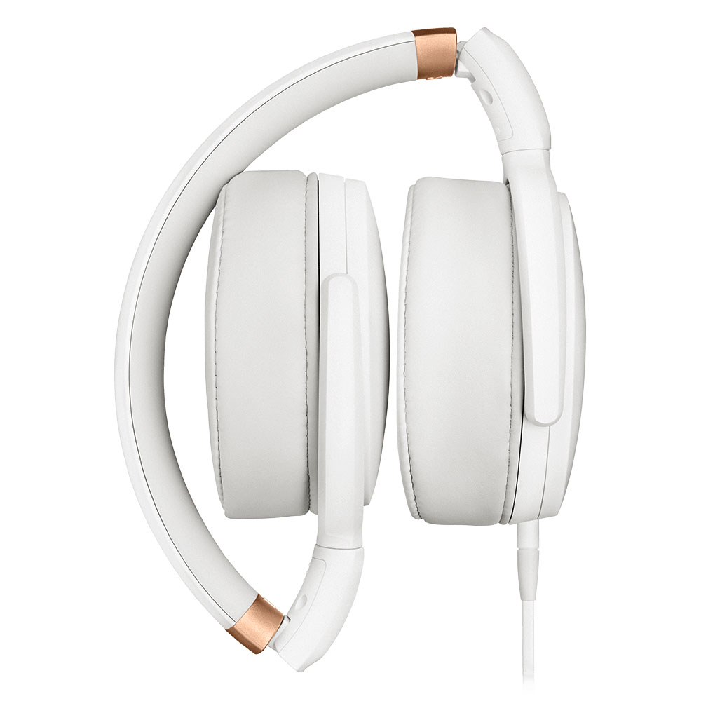 Sennheiser HD 4.30i White Headset - Folded