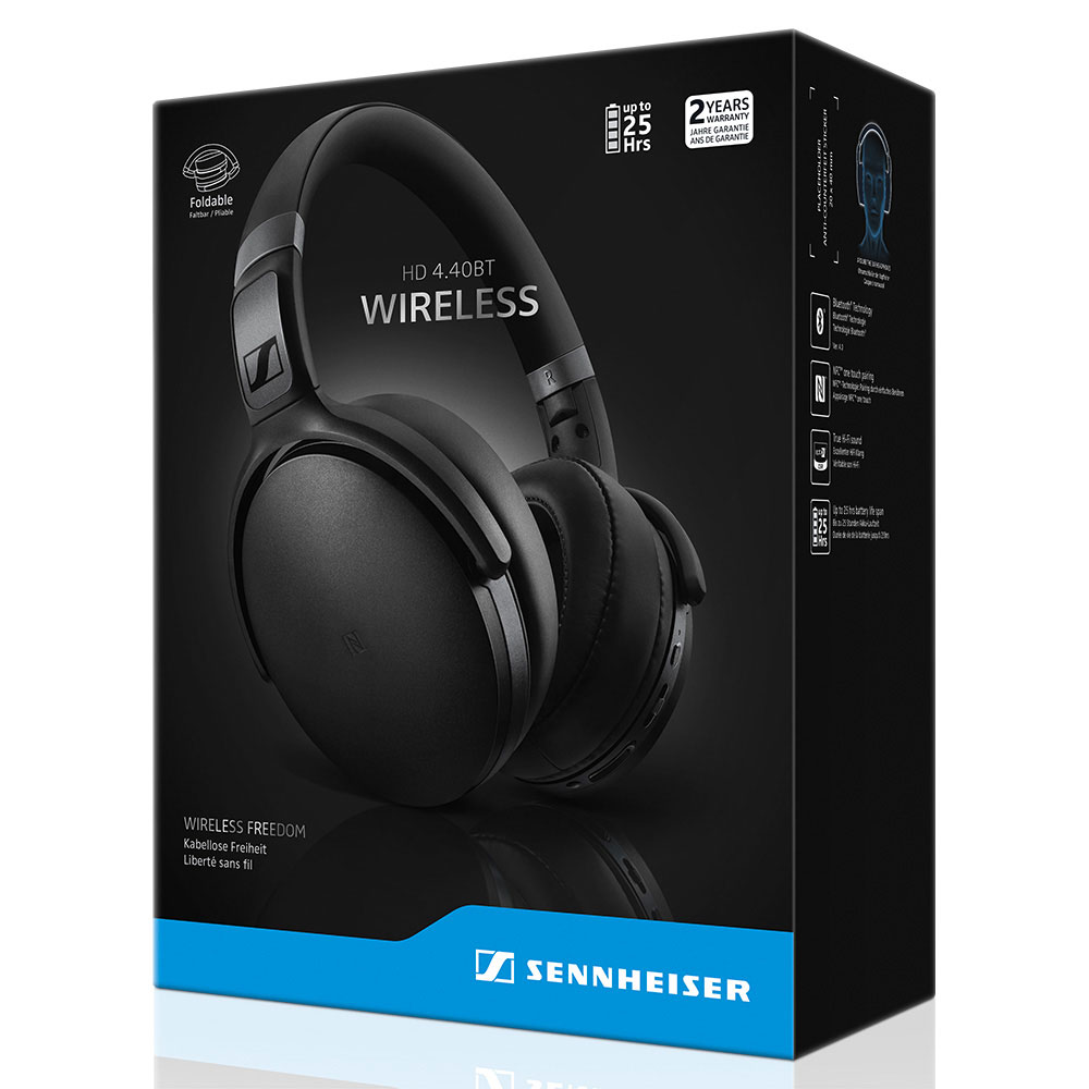 Sennheiser HD 4.40 BT Headset - Packaging Front