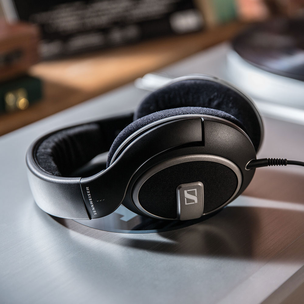 Sennheiser HD 559 Headphones - On The Amplifier