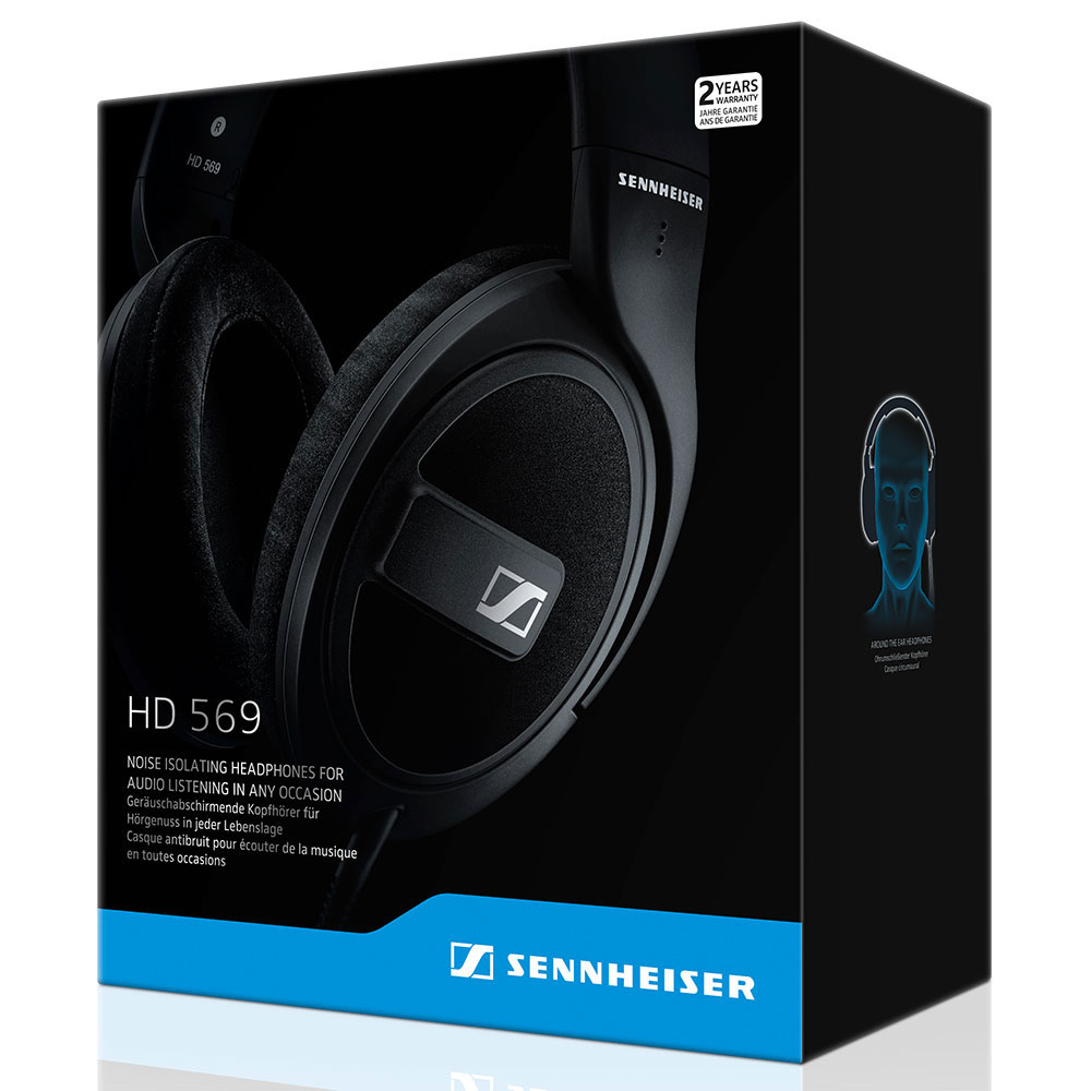 Sennheiser HD 569 Headphones - Packaging Front