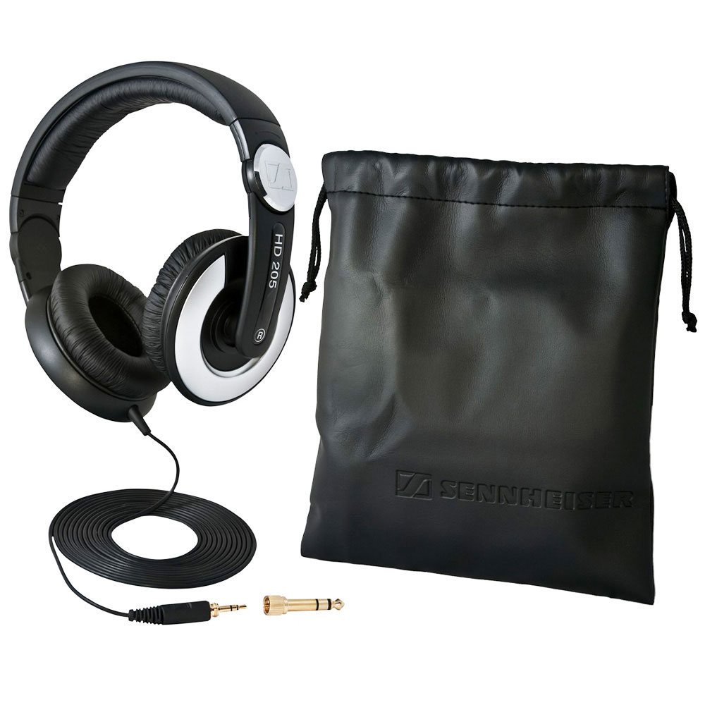 Sennheiser HD 205 II Headphones - Package Contents