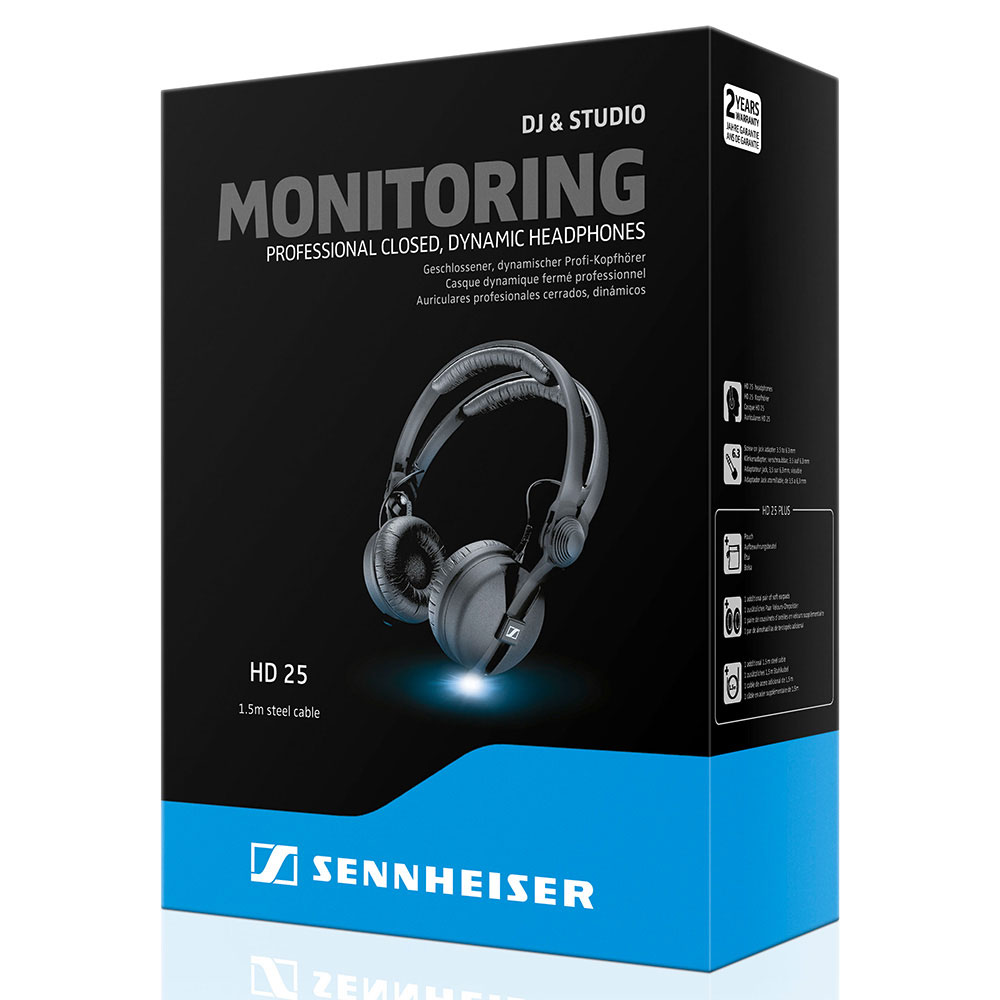 Sennheiser HD 25 Headphones - Packaging
