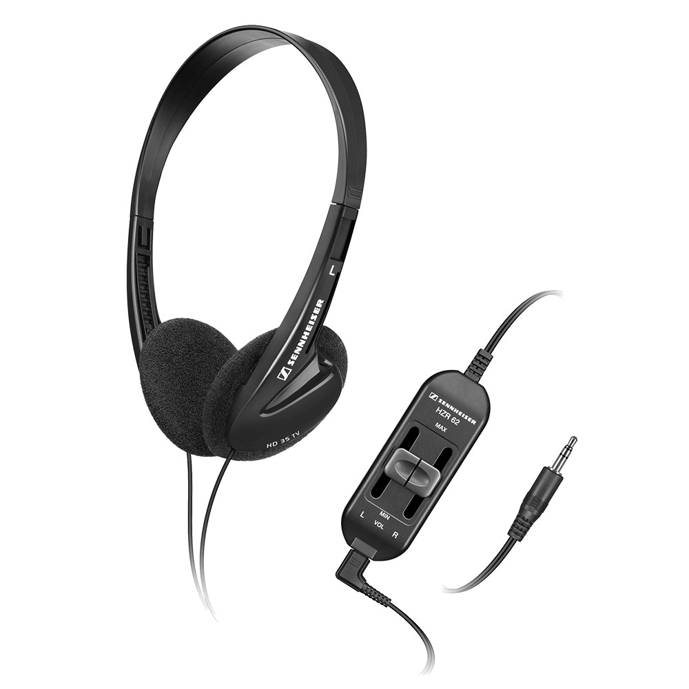 Sennheiser HD 35 TV Headphones - Product with Volume Control