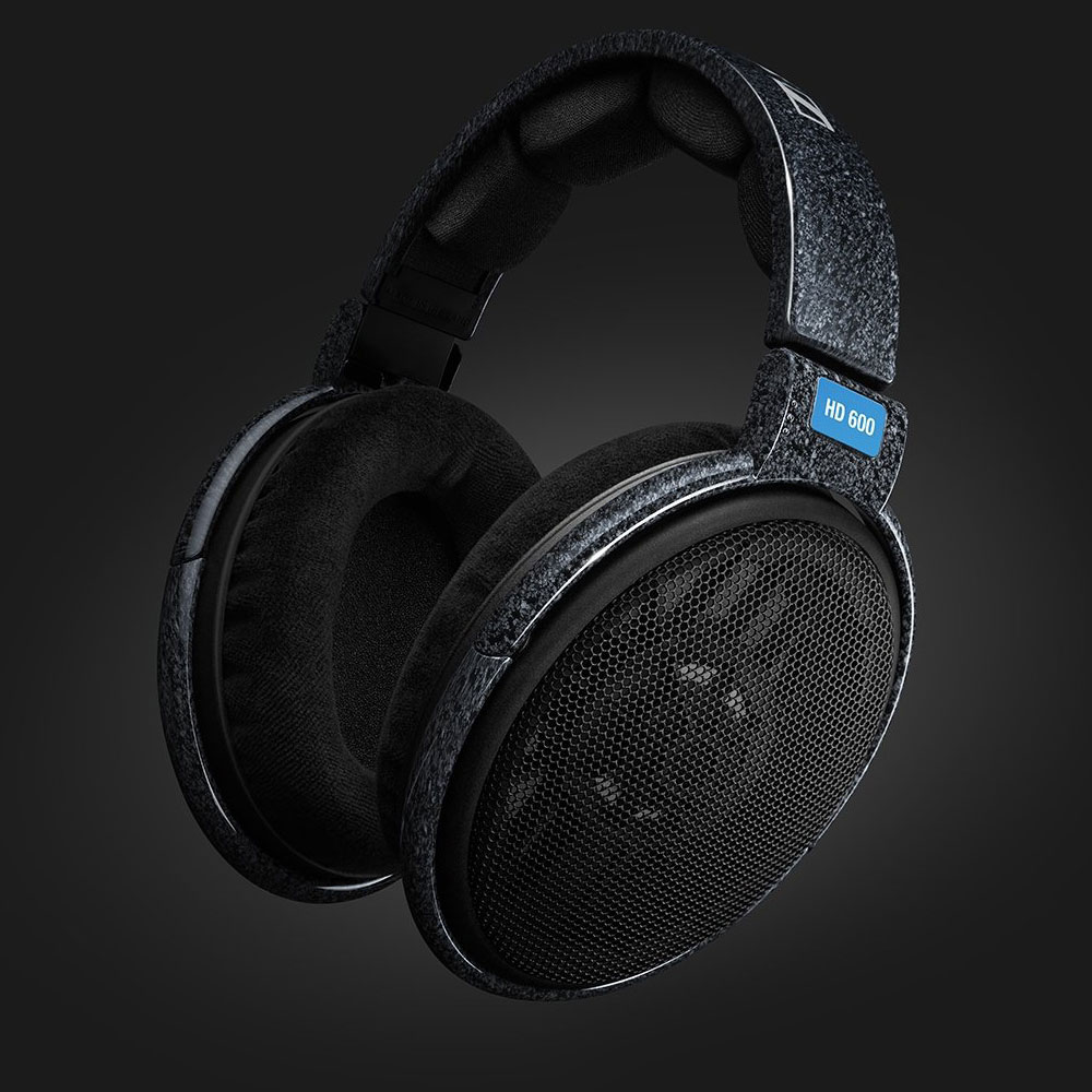 Sennheiser HD 600 Headphones - Dark