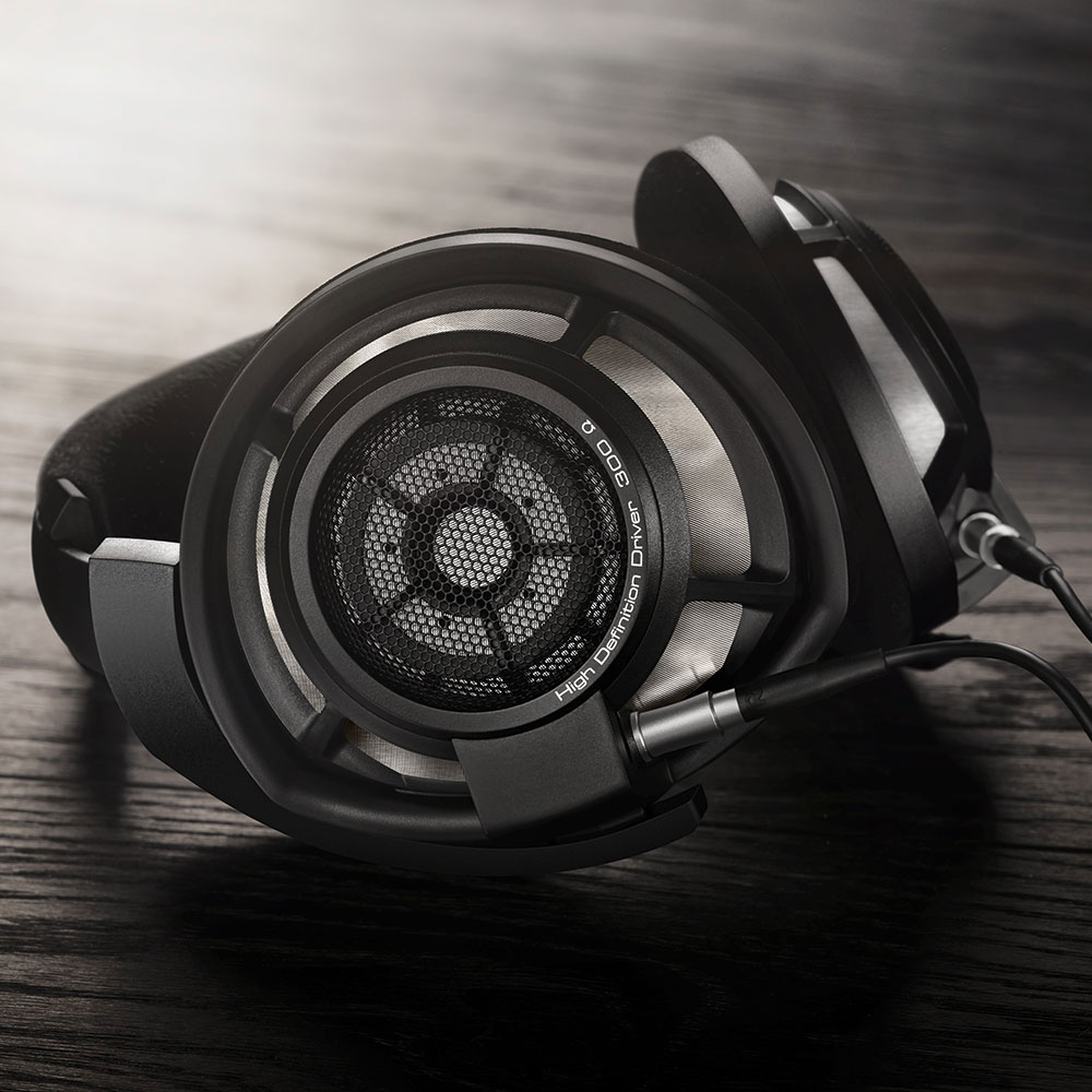 Sennheiser HD 800 S Headphones - On the Table