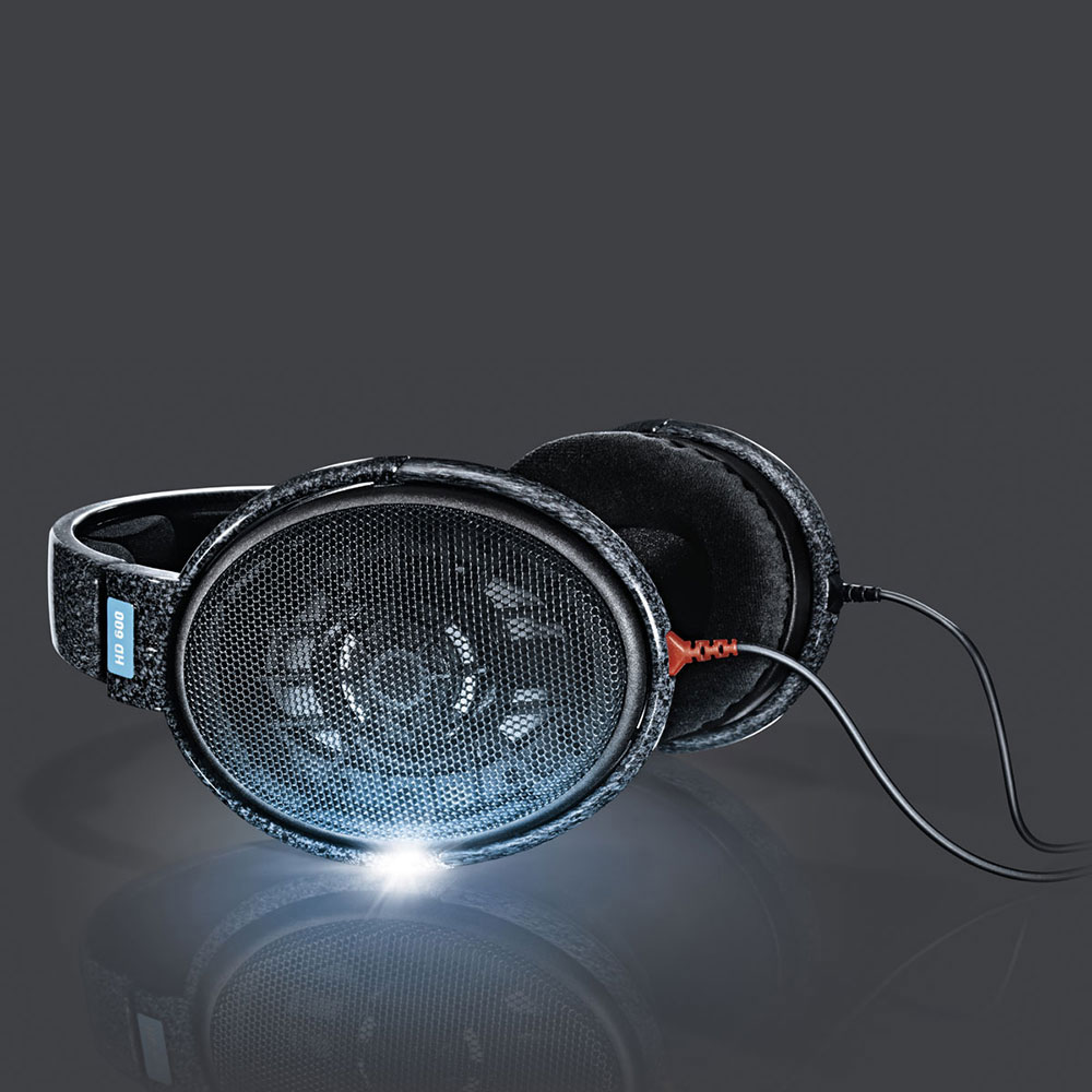 Sennheiser HD 600 Headphones - with Light