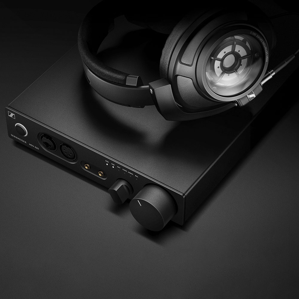 Sennheiser HD 820 Headphones - On the HDV 820