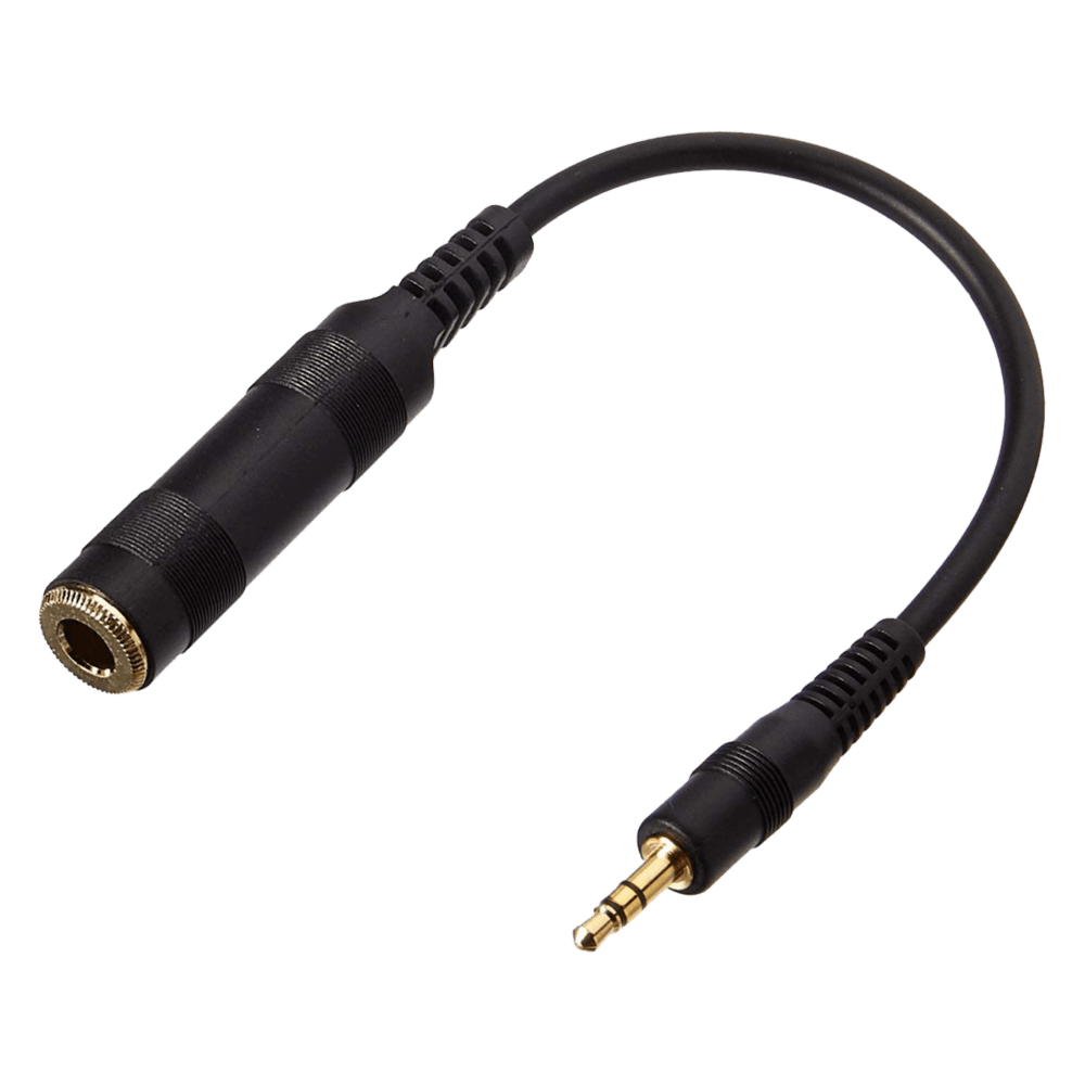 Sennheiser 6.3 mm F - 3.5 mm M adapter - Product Front