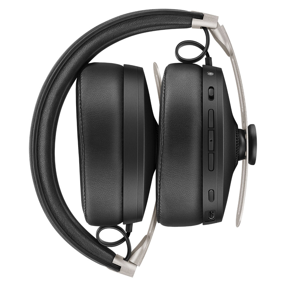 Sennheiser MOMENTUM 3 Wireless Black Headphones - Folded