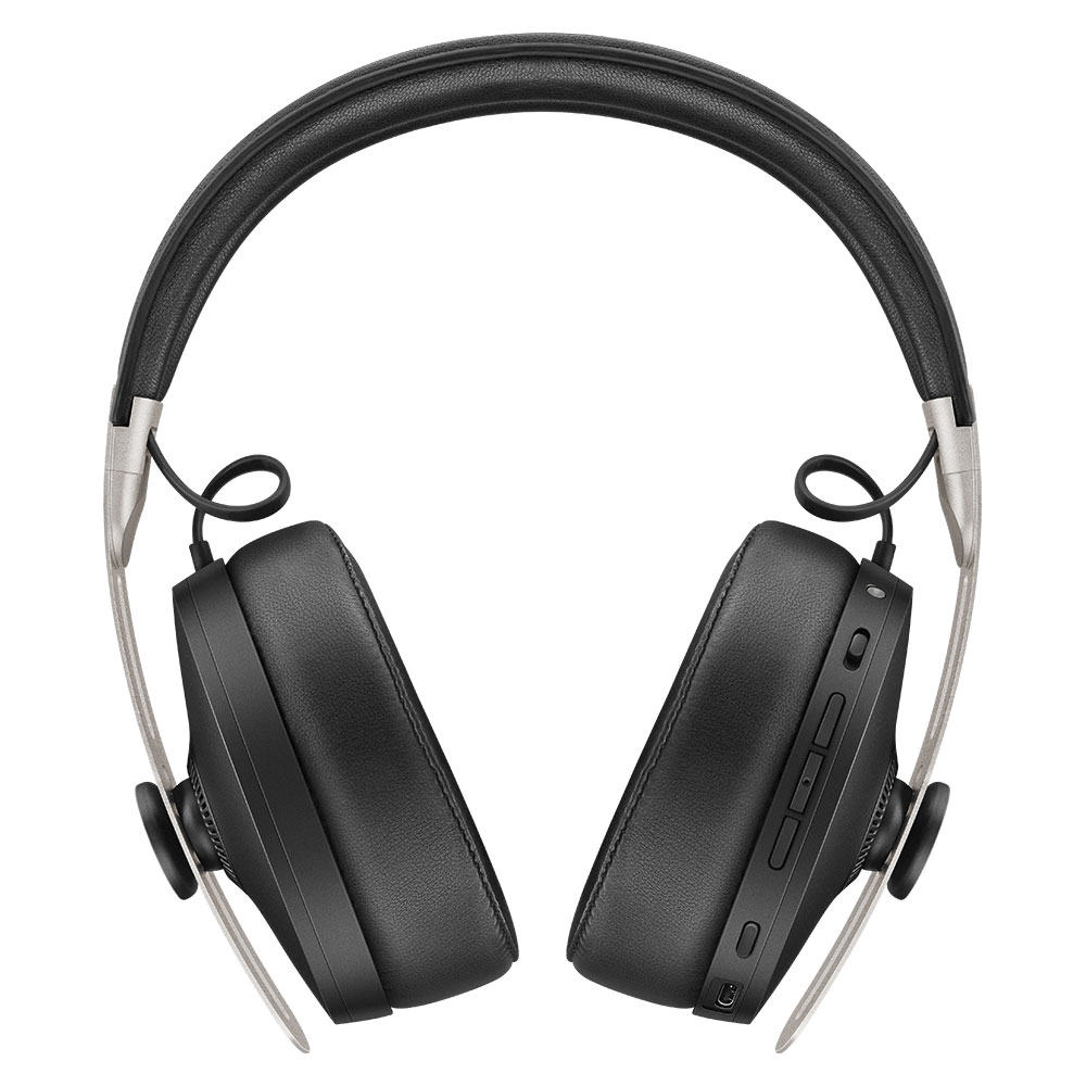 Sennheiser MOMENTUM 3 Wireless Black Headphones - Front