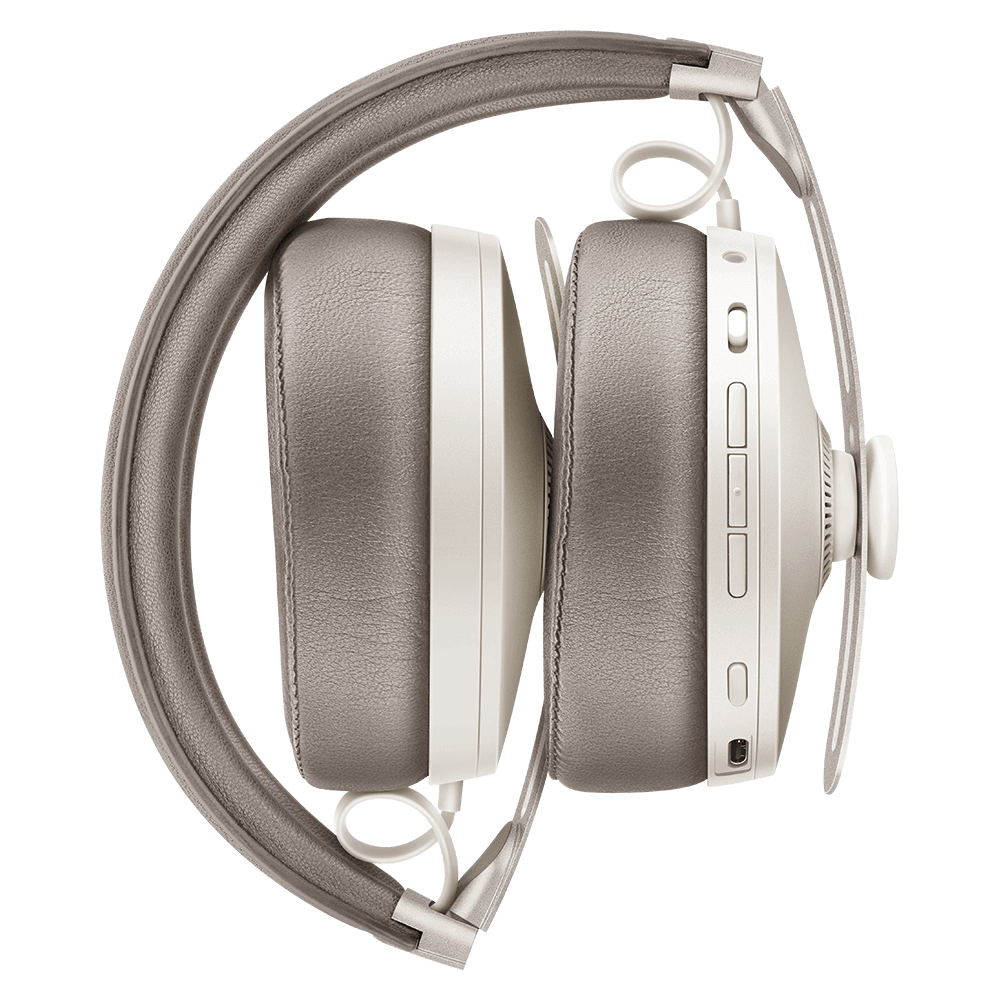 Sennheiser MOMENTUM 3 Wireless White Headphones - Folded