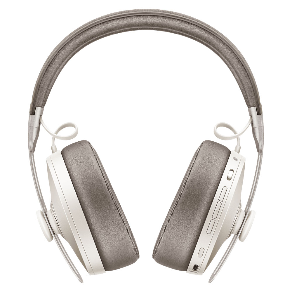 Sennheiser MOMENTUM 3 Wireless White Headphones - Front