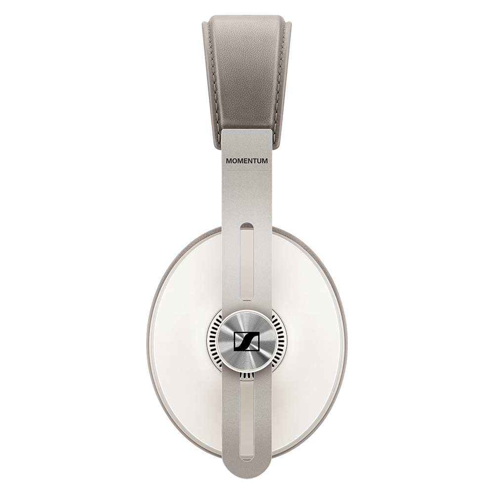 Sennheiser MOMENTUM 3 Wireless White Headphones - Side