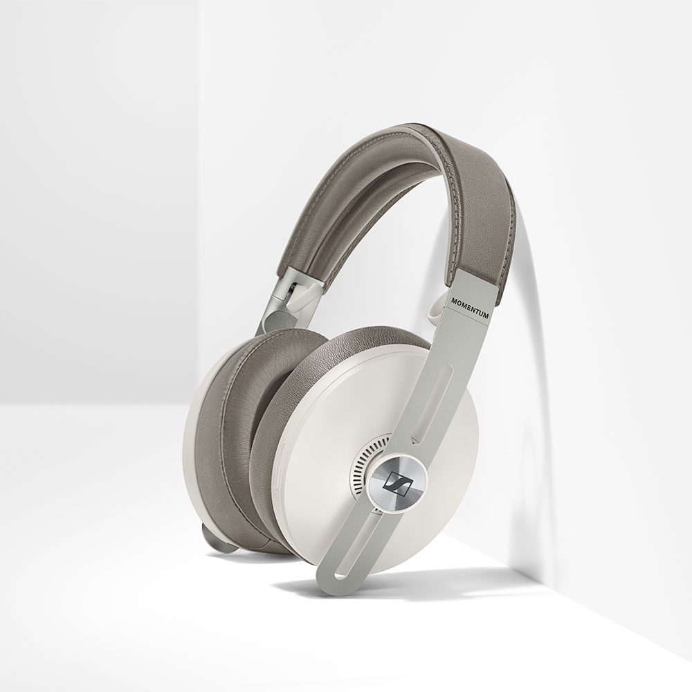Sennheiser MOMENTUM 3 Wireless White Headphones - To the Wall