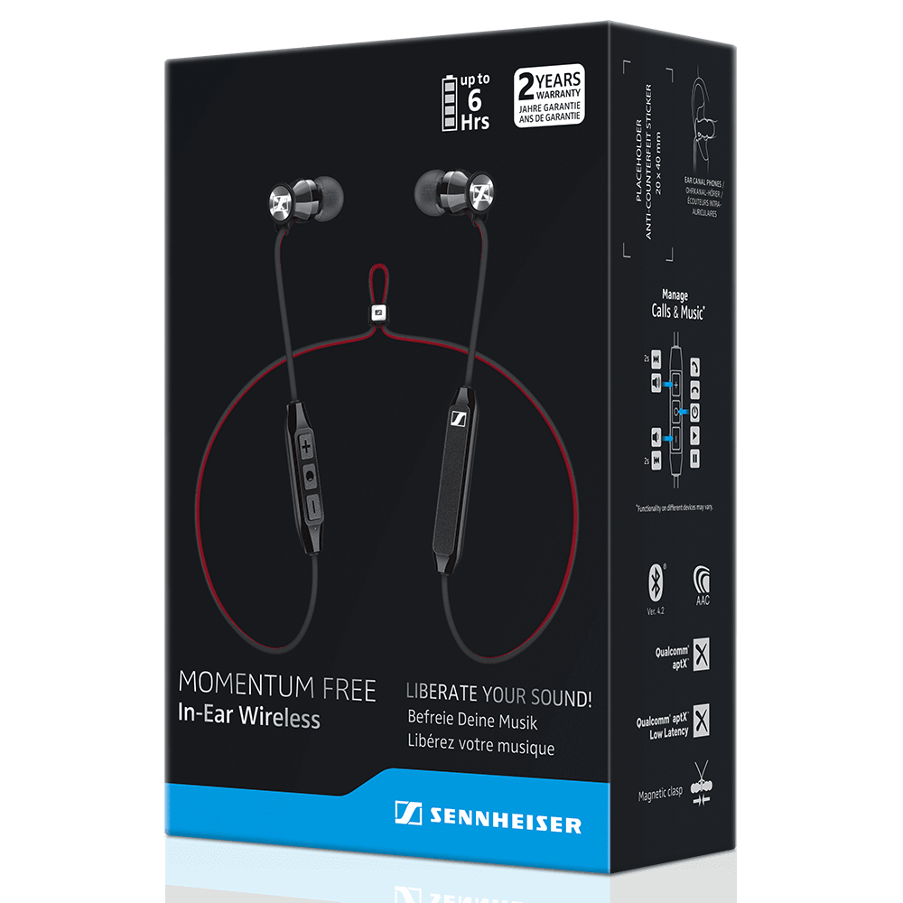 Sennheiser MOMENTUM Free Earphones - Packaging Front