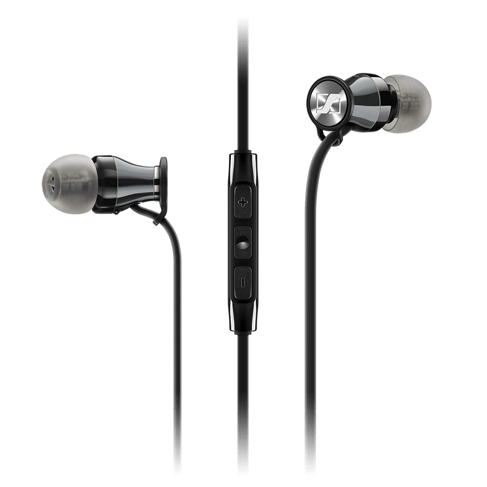 Sennheiser MOMENTUM In-Ear G Black Headphones - Product Front