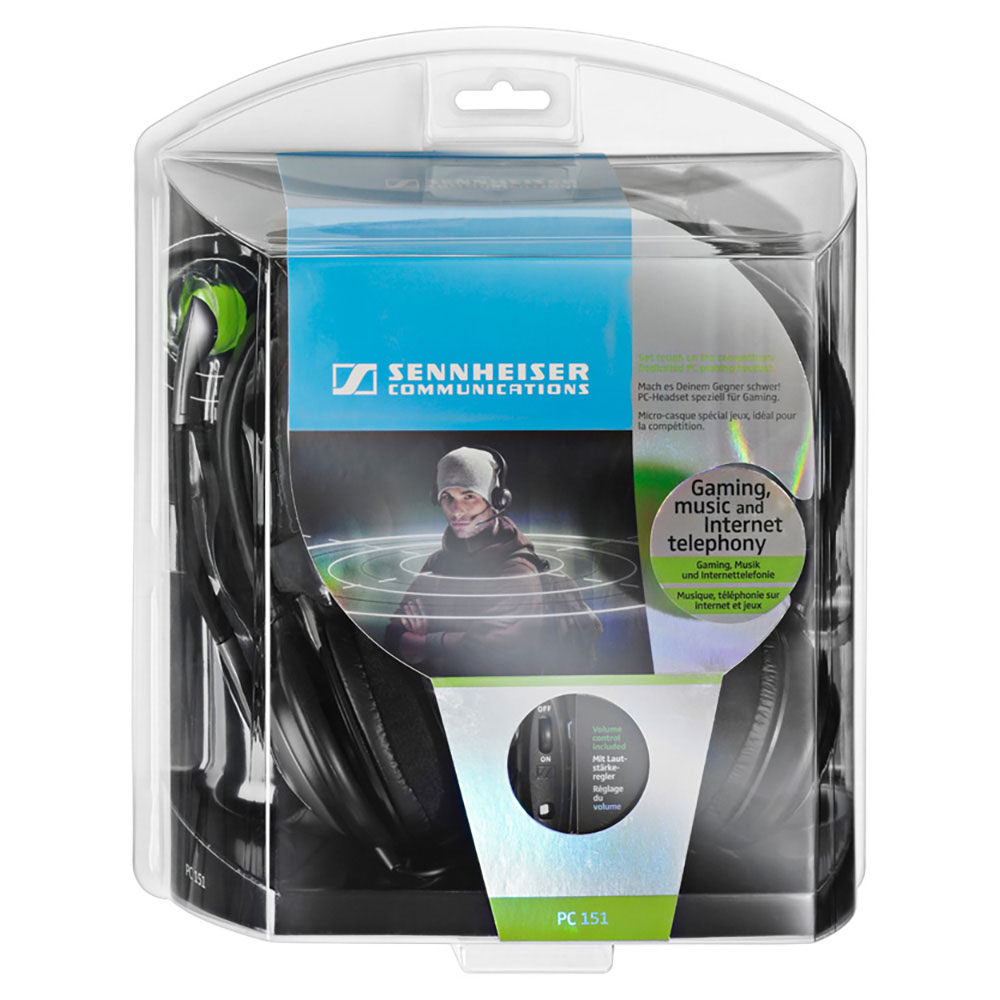 Sennheiser PC 151 Headset - Packaging Front